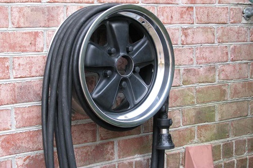 Car Rim Hose Reel