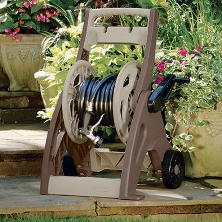 Hose Reel In Garden