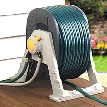 Water Powered Hose Reel