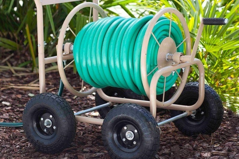 Liberty Garden Products 870-M1-2 Hose Reel Cart Review