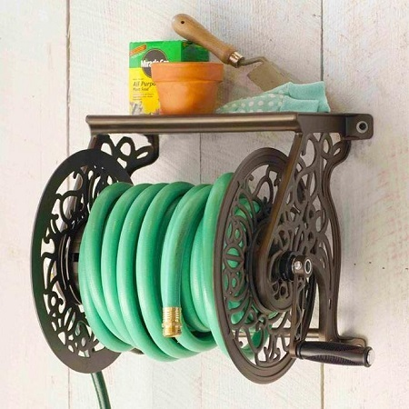 Liberty Garden Products 704 Hose Reel On Wall